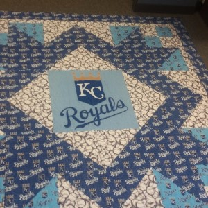 Kansas City Royals Quilt