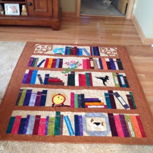 book shelf quilts
