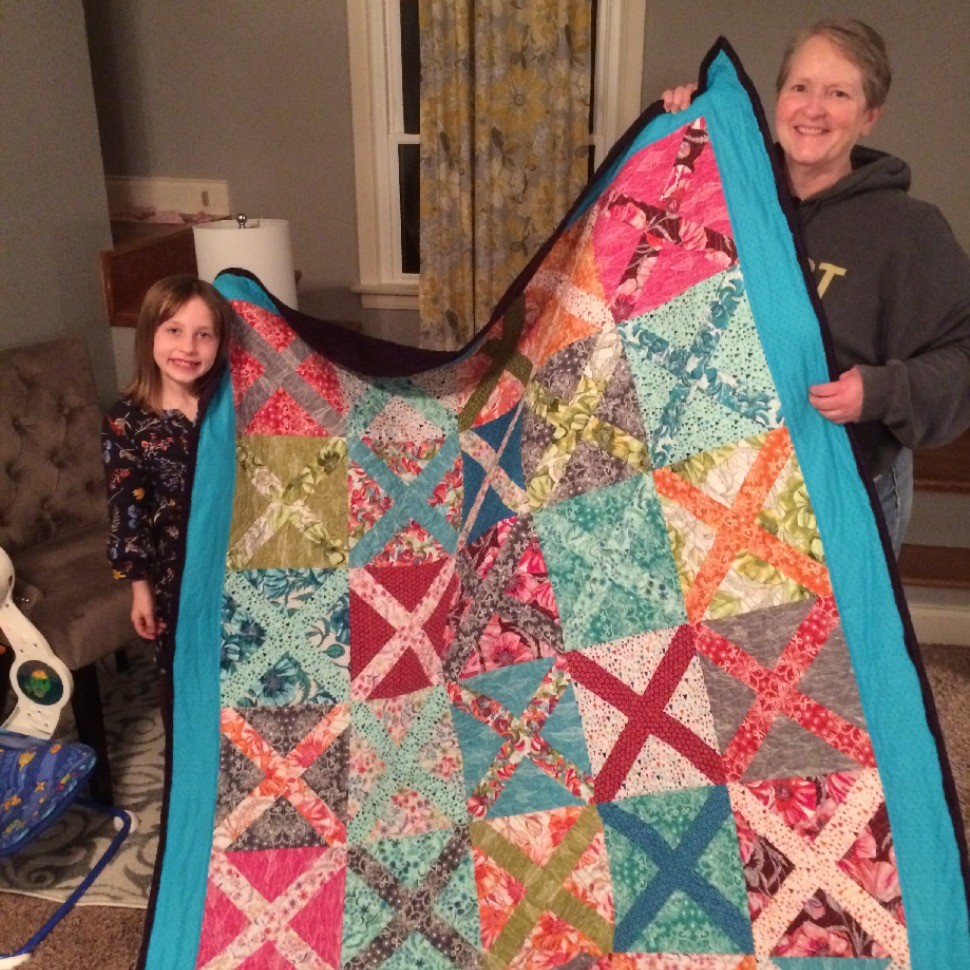Granddaughter Birthday Quilt