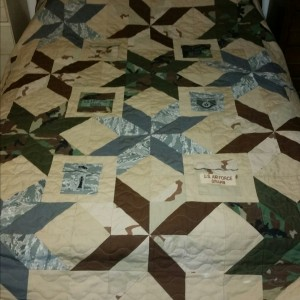 2016 Military quilt