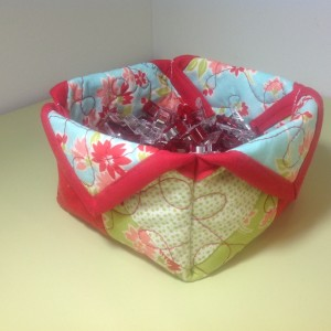 Miss Kate Fabric Bowl