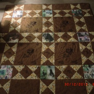 Shadows quilt
