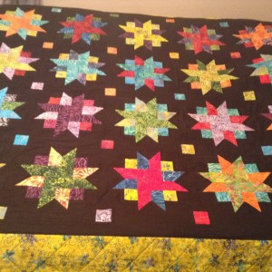 Batik Ribbon Star