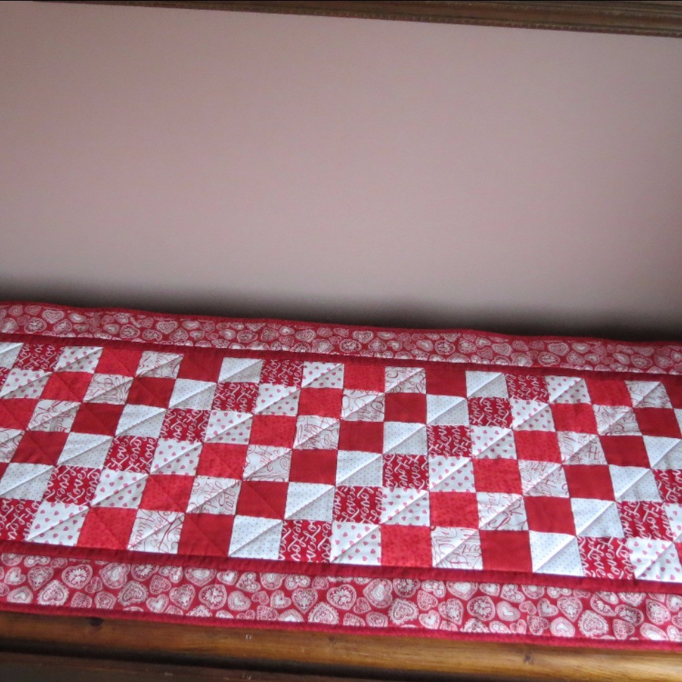 Valentine's Day Table topper/runner