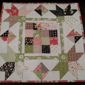 Olive's Flower Market Picking Petals Mini Quilt Ki