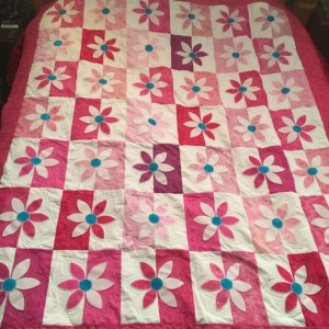 Wallflower Quilt 1