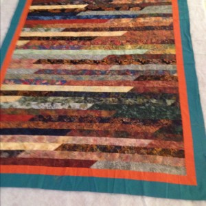 Jelly Roll Race - Quilt 1