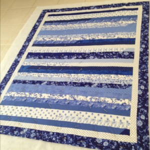Jelly Roll Race - Quilt #2