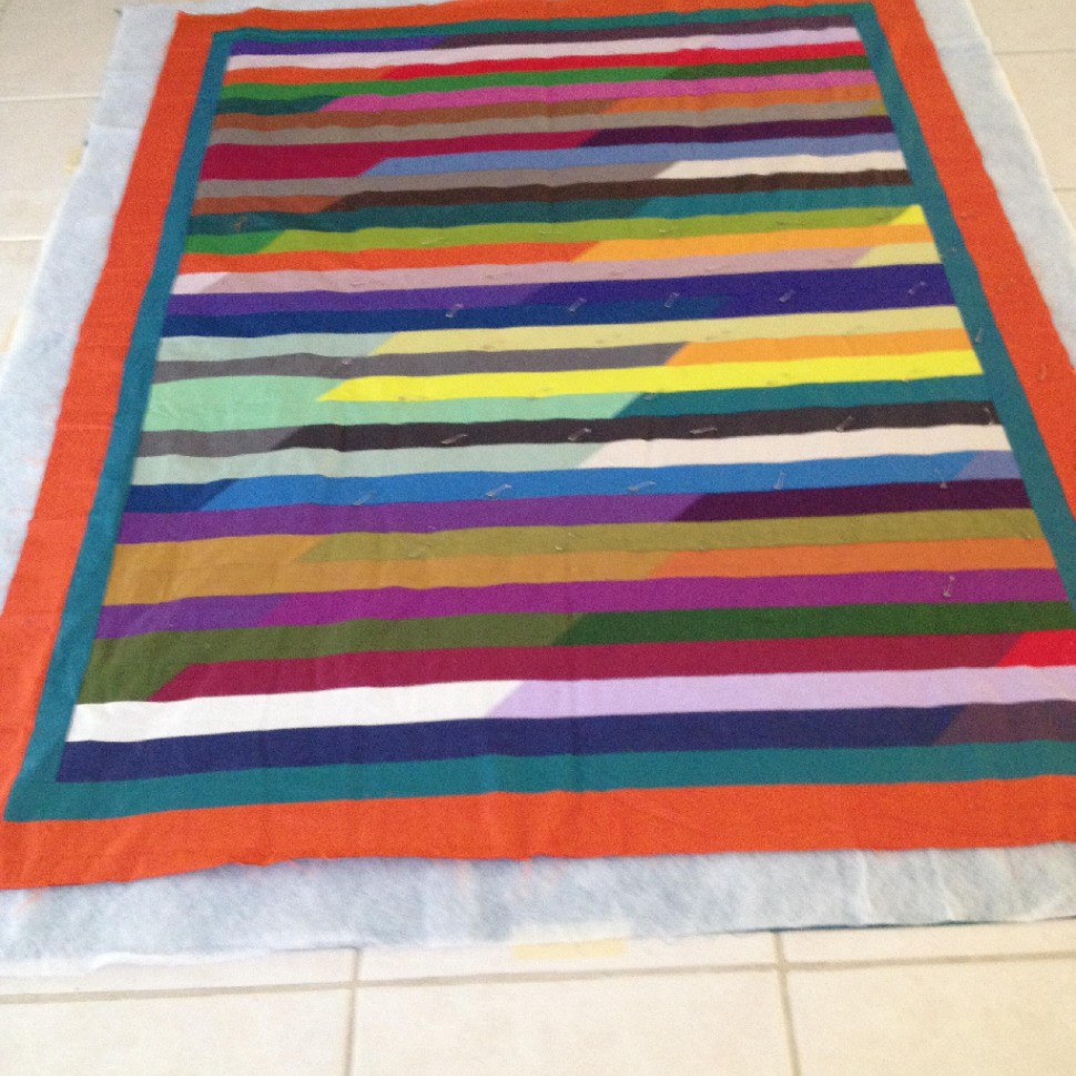 Jelly Roll Race - Quilt #3