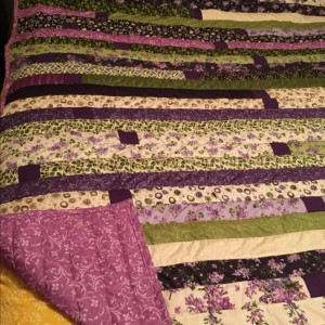 Jelly Roll Race - Quilt #4