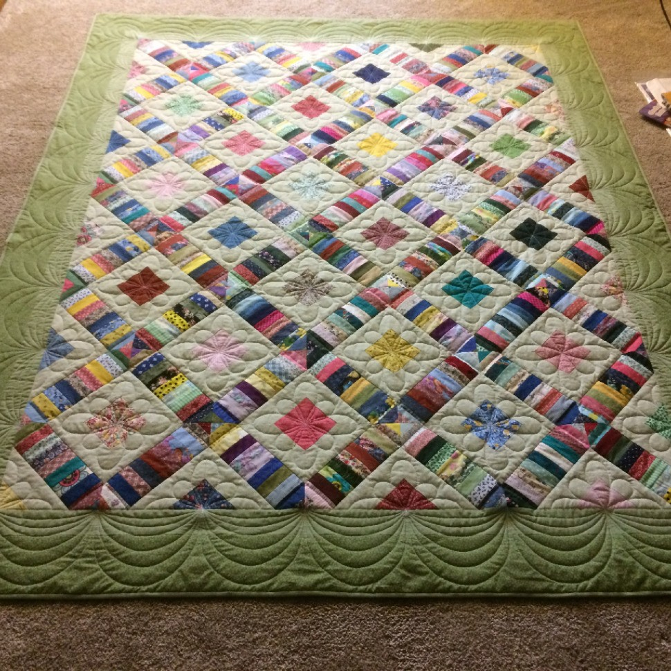 Other scrappy Quilt