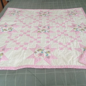 Quilt for twin girl.