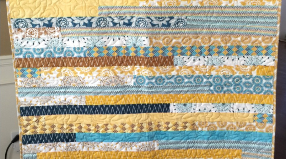 Indie Chic Jelly Roll Quilt