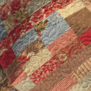 Autumn Lily Jelly Roll Quilt
