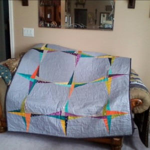 Quilt from the