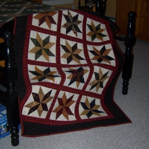 Star Quilt for Katie
