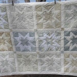 Collaboration star quilt...