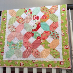 Sweet Baby Girl Quilt