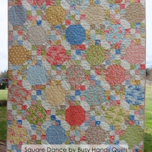 Square Dance - Pattern available in 7 sizes!