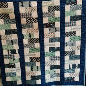 By the Sea baby quilt