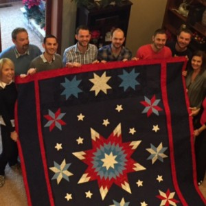 Sgt. Matthew R. Soper's Tribute and Memorial Quilt