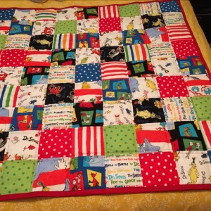 Dr. Suess Baby Quilt