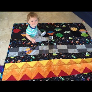 Max's Space Quilt