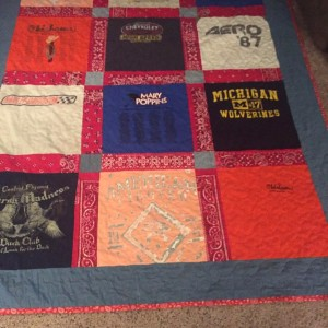 Jodie's Memory Quilt