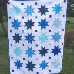 Strip Star Quilt
