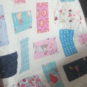 Girl Baby Quilt