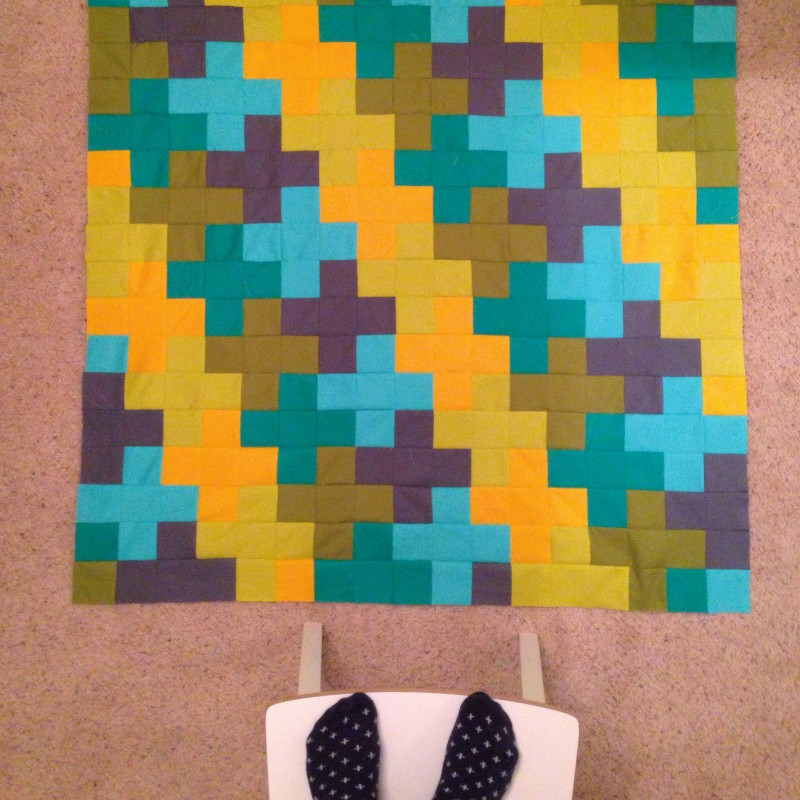 Plus Quilt with 3.5