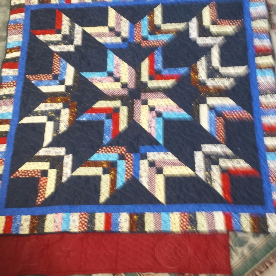 Binding Star Tool Quilt - Quilt of Valor