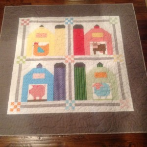 Barn & Silo Baby Quilt