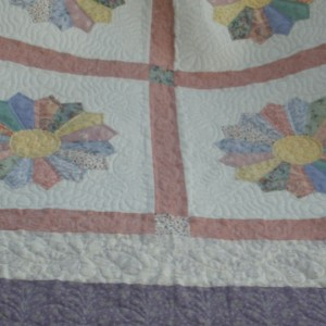 Dresden wedding quilt
