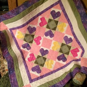 Shirley's Quilt (Baby quilt #3)