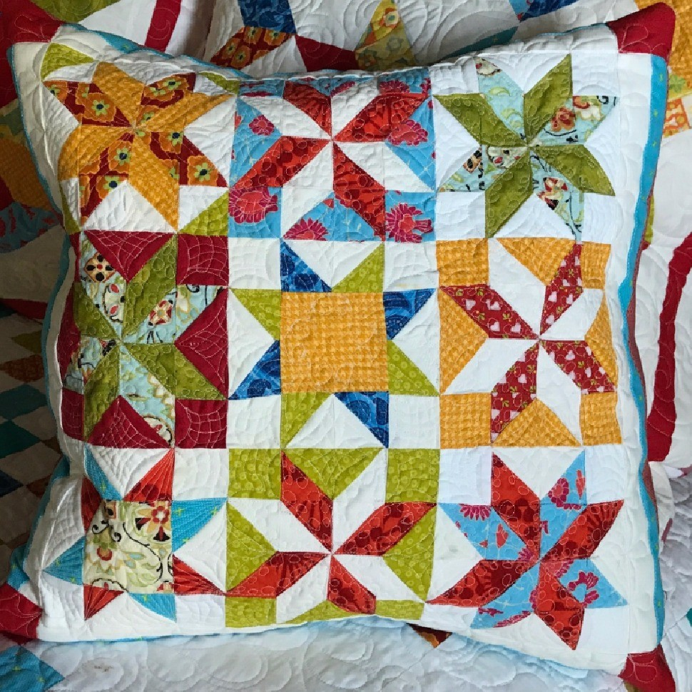 first attempt free motion quilting