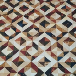 Magic Diamonds (Half Square Triangle Quilt)