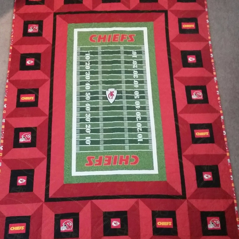 KC Chiefs Stadium Quilt