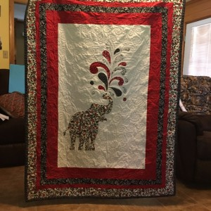 Miss Elly Phant Quilt