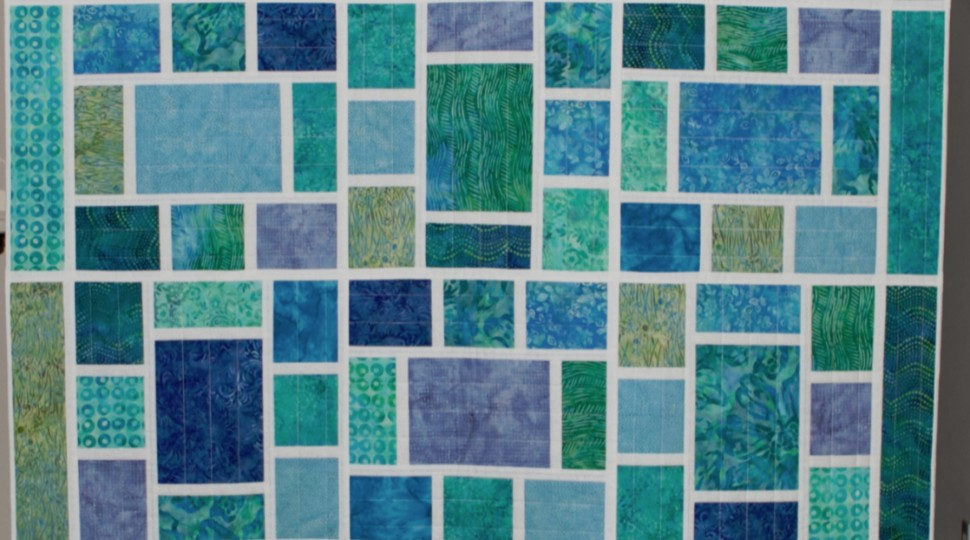 Mosaic Quilt-as-You-Go