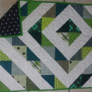 Diamond burst quilt