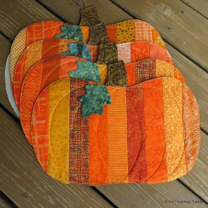 Pumpkin Placemats...
