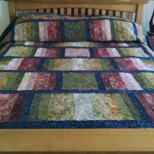 From table runner to King Sized Quilt