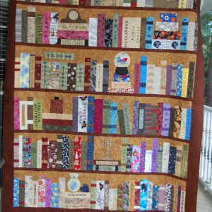 Mom's Bookcase Quilt