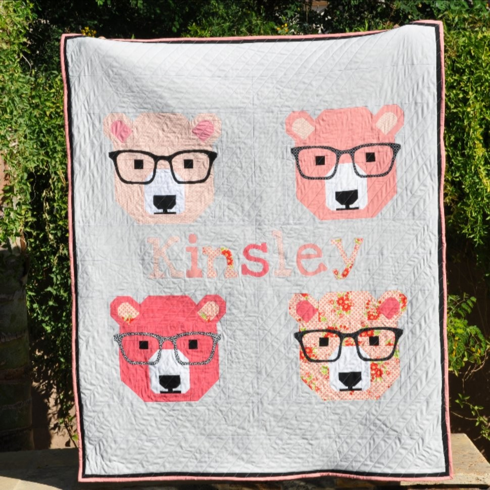 Kinsley's Bjorn Bear Quilt