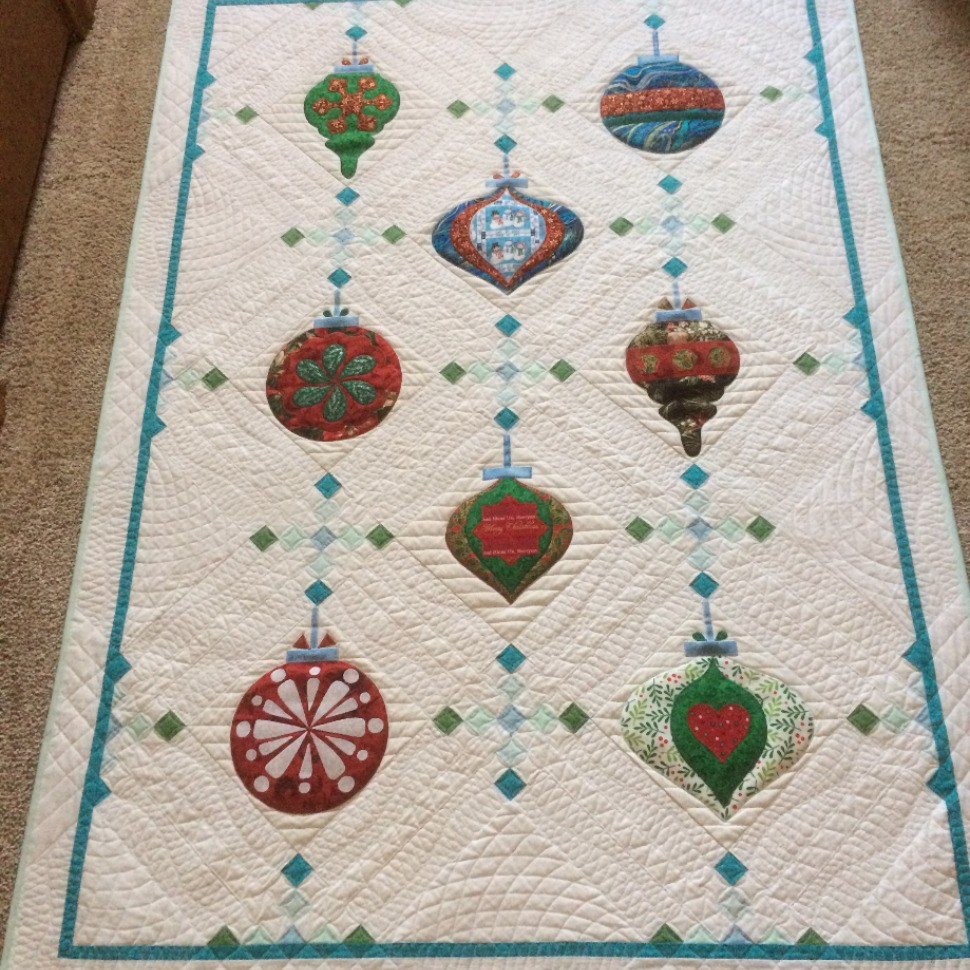 Vintage Ornaments Quilt-Along