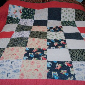 Christmas Music Patchwork Quilt