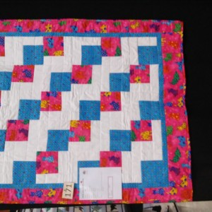 Tumbling Charms Baby Quilt