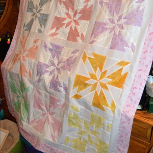 Hunter's Star Baby Quilt