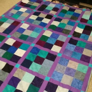 Brittneys wedding quilt